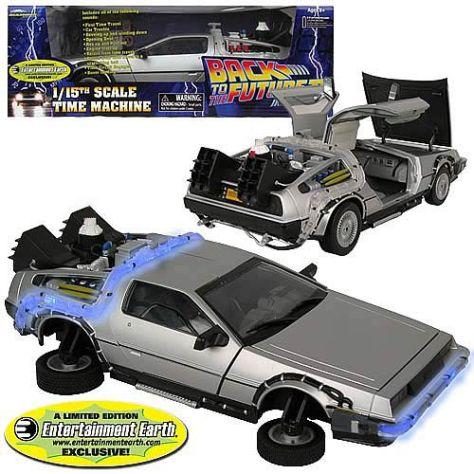 Back to the Future II DeLorean