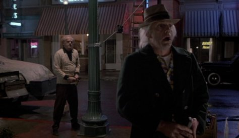 Back to the Future II - Doc Brown and 1985 Doc Brown II