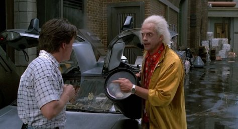 Back to the Future II - Marty and Doc Brown