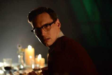 "GOTHAM: Nygma (Cory Michael Smith) in the ""Rise of the Villains: Strike Force"" episode of GOTHAM airing Monday, Oct. 12 (8:00-9:00 PM ET/PT) on FOX. ©2015 Fox Broadcasting Co. Cr: FOX."