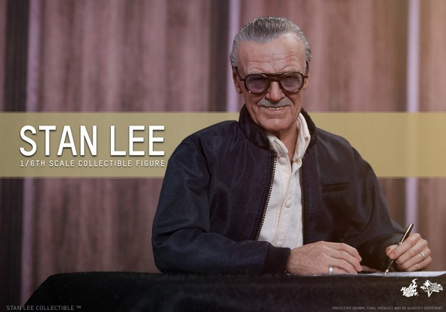 Hot Toys reveals Stan Lee figure