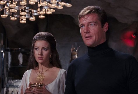 Live and Let Die - Jane Seymour and Roger Moore