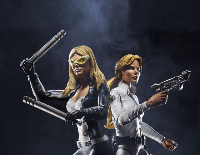Marvel Legends Civil War wave - Mockingbird and Sharon Carter