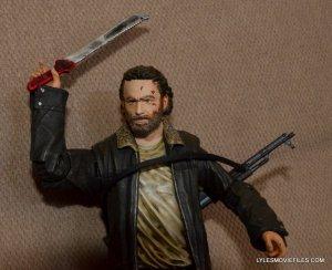 McFarlane Toys Walking Dead Rick Grimes Series 8 -holding machete