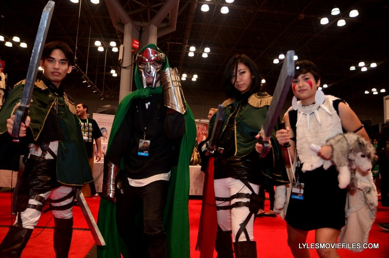 New York Comic Con 2015 cosplay - Attack on Titan group cosplay
