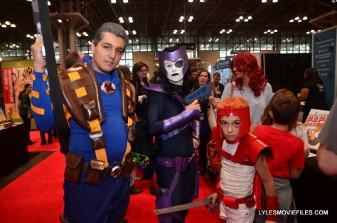 New York Comic Con 2015 cosplay - Cable, Domino and Shatterstar