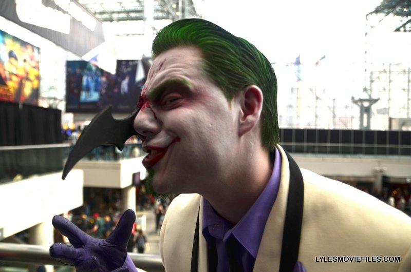 New York Comic Con 2015 cosplay - Dark Knight Returns Joker