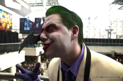 New York Comic Con 2015 cosplay - Dark Knight Returns Joker