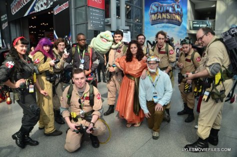 New York Comic Con 2015 cosplay - Ghostbuster squads