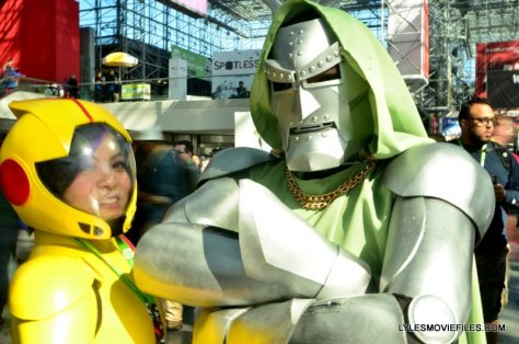 New York Comic Con 2015 cosplay - Go Go and Dr. Doom