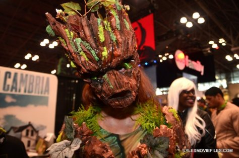 New York Comic Con 2015 cosplay - Groot close-up