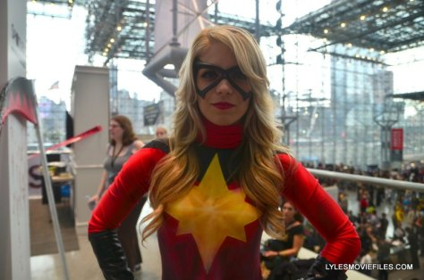 New York Comic Con 2015 cosplay - Laney Jade as Ms. Marvel