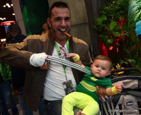 New York Comic Con 2015 cosplay - Logan and Baby Phoenix