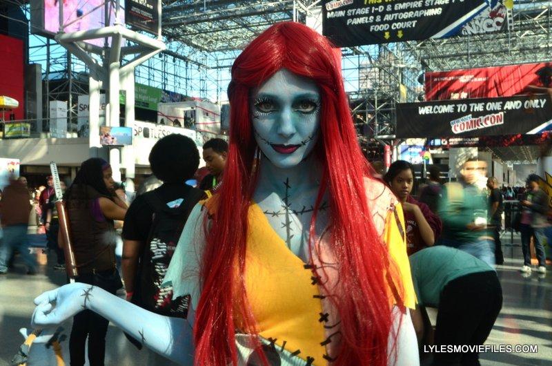New York Comic Con 2015 cosplay - Sally Nightmare Before Christmas