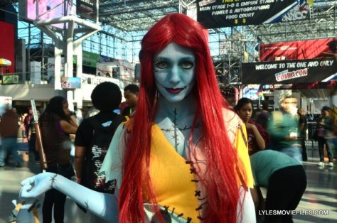 New York Comic Con 2015 cosplay - Sally Nightmare Before Christmas