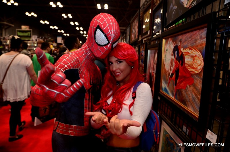 New York Comic Con 2015 cosplay -Spider-Man and Mary Jane