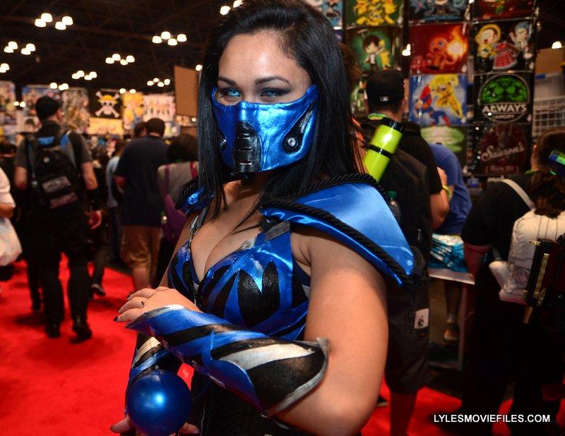New York Comic Con 2015 cosplay -Sub-Zero2