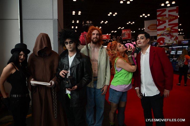 New York Comic Con 2015 cosplay - The Sandman The Endless