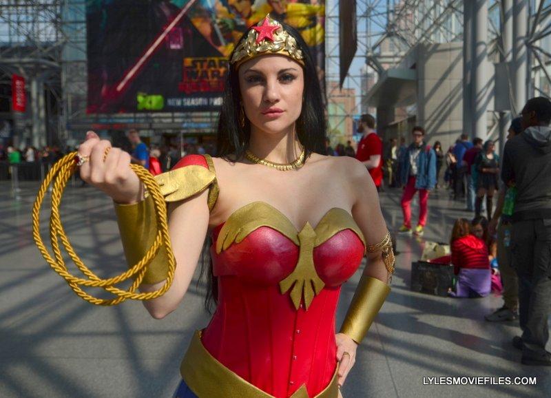 New York Comic Con 2015 cosplay - Wonder Woman close up