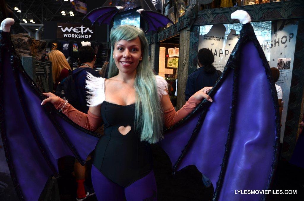 New York Comic Con cosplay - Darkstalkers Lilith