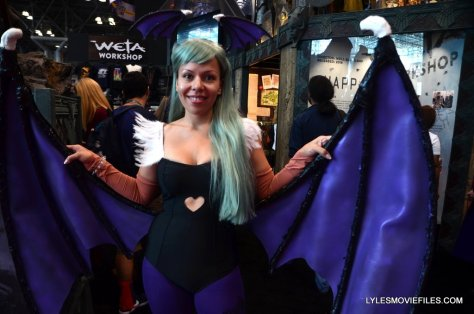 New York Comic Con cosplay - Darkstalkers Lilith