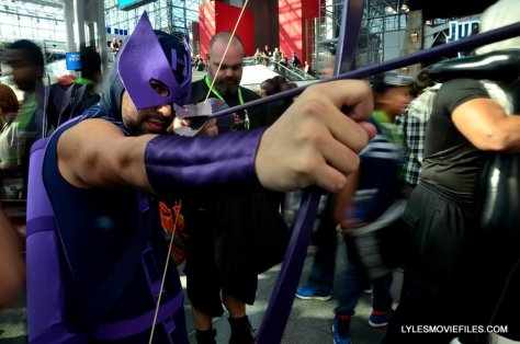 New York Comic Con cosplay - Hawkeye