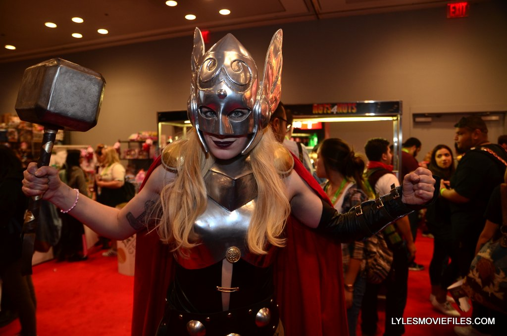 New York Comic Con cosplay - Jane Foster Thor
