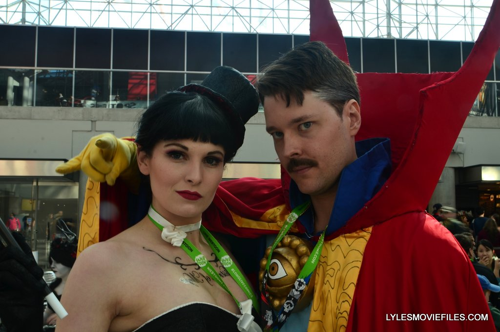 New York Comic Con cosplay - Zatanna and Dr. Strange 2