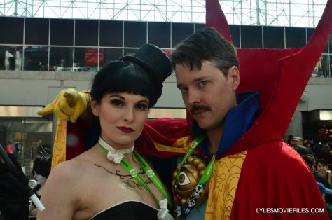 New York Comic Con cosplay - Zatanna and Dr. Strange 2