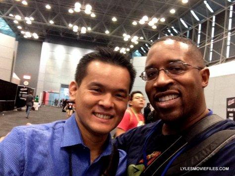NYCC'15 - Jay Oliva and me