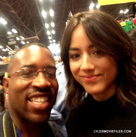 NYCC'15 - me and Chloe Bennet