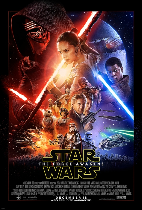 Star Wars Episode VII - The Force Awakens payoff poster