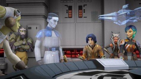 Star Wars Rebels season 2 episode 1 - briefing