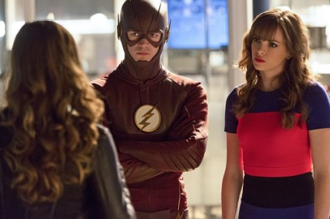 The Flash - Family of Rogues -Flash and Caitlin