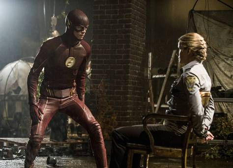 The Flash - Flash of Two Worlds - The Flash and Patty Spivot