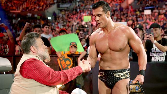 WWE Hell in a Cell 2015 - Alberto Del Rio