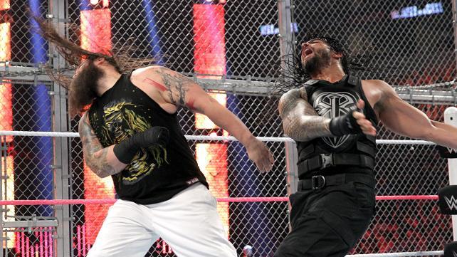 WWE Hell in a Cell 2015 - Bray Wyatt vs Roman Reigns