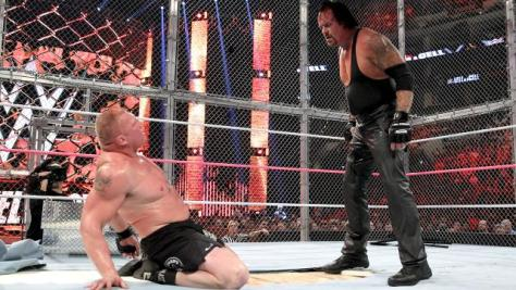 WWE Hell in a Cell 2015 - Brock Lesnar vs The Undertaker