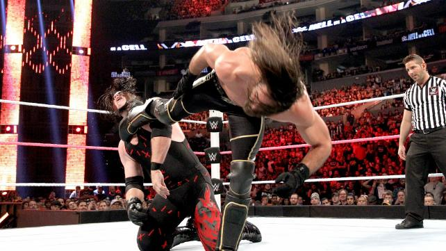 WWE Hell in a Cell 2015 - Kane vs Seth Rollins