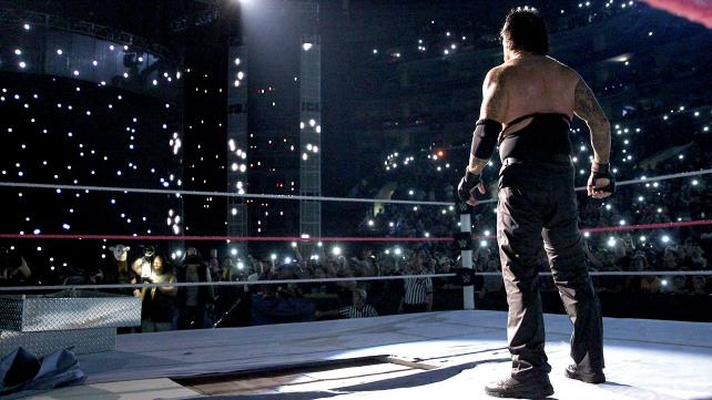 WWE Hell in a Cell 2015 - The Wyatts come to Undertaker