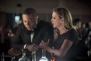 Arrow - Brotherhood - Diggle and Laurel