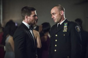 Arrow - Brotherhood -Oliver and Quentin Lance