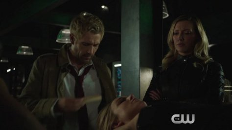 Arrow - Haunted - Constantine, Sara and Laurel