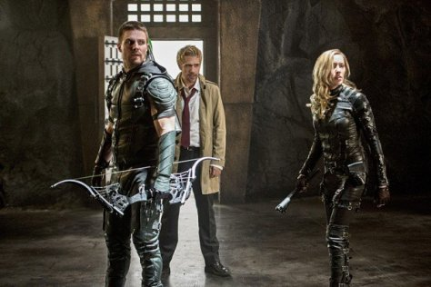 Arrow - Haunted -Green Arrow, Constantine and Laurel