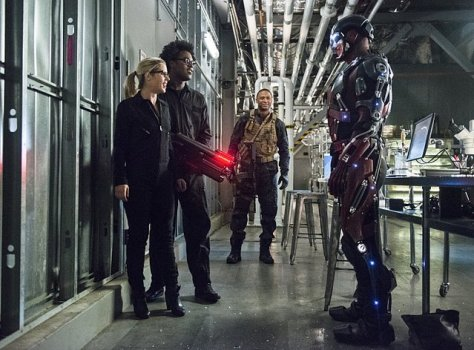 Arrow - Lost Souls -Felicity, Curtis, Diggle and Ray