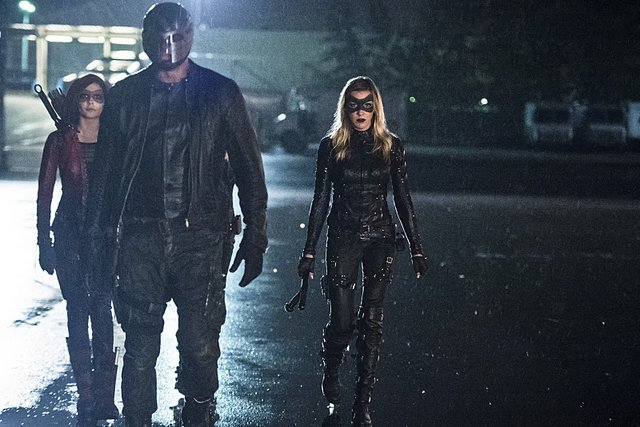Arrow - Lost Souls -Speedy, Diggle and Black Canary