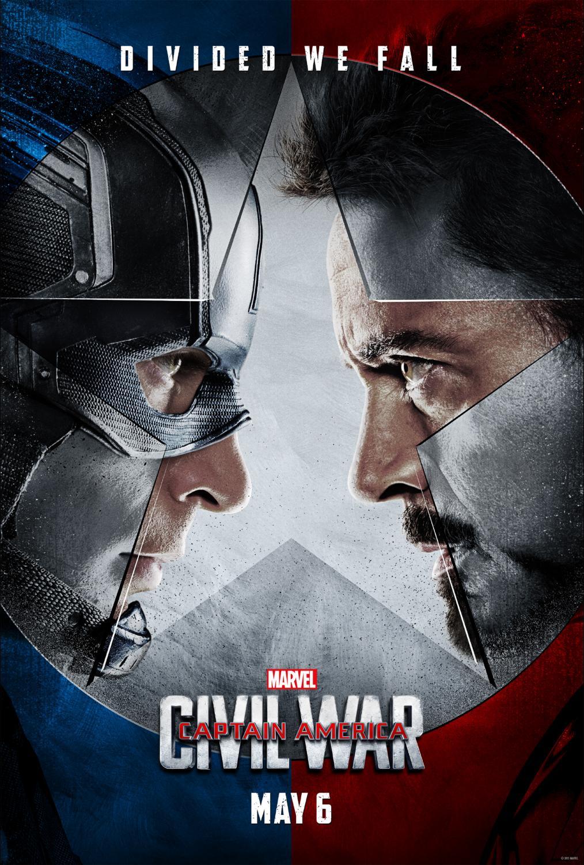 Captain America Civil War promo poster