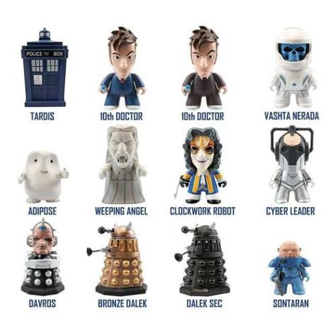 Dr Who 10th Doctor vinyl figure