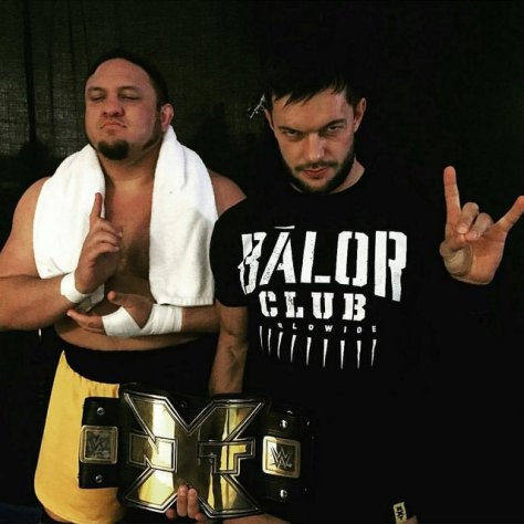 Finn Balor and Samoa Joe