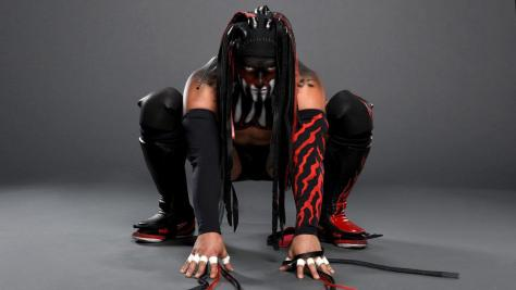 Finn Balor war paint
